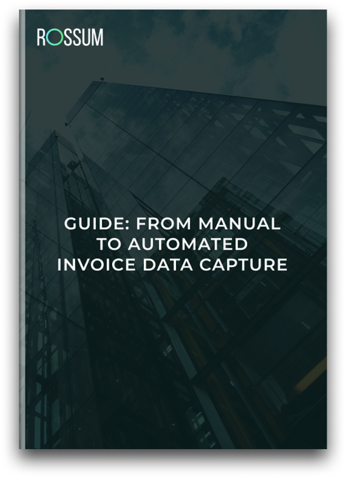 Guide_ from manual to automated data capture